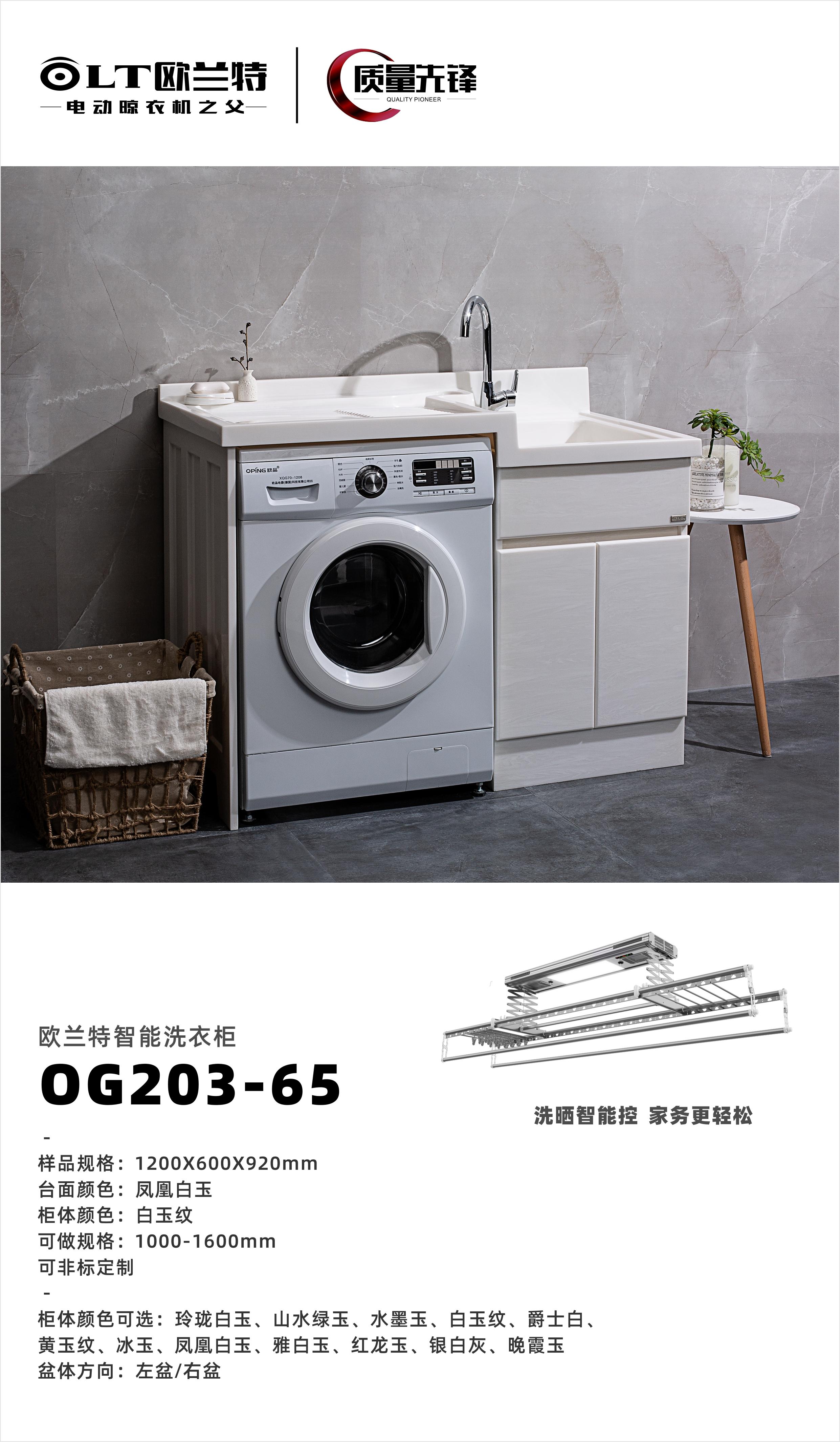 欧兰特智能洗衣柜OP203-65